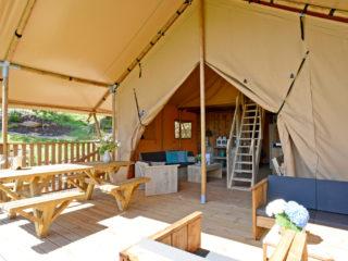 YALA - Glamping Lodge Veranda