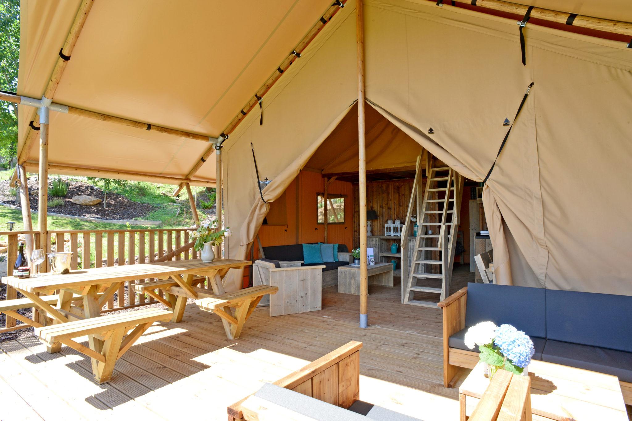 Extend the lifespan of safari tents
