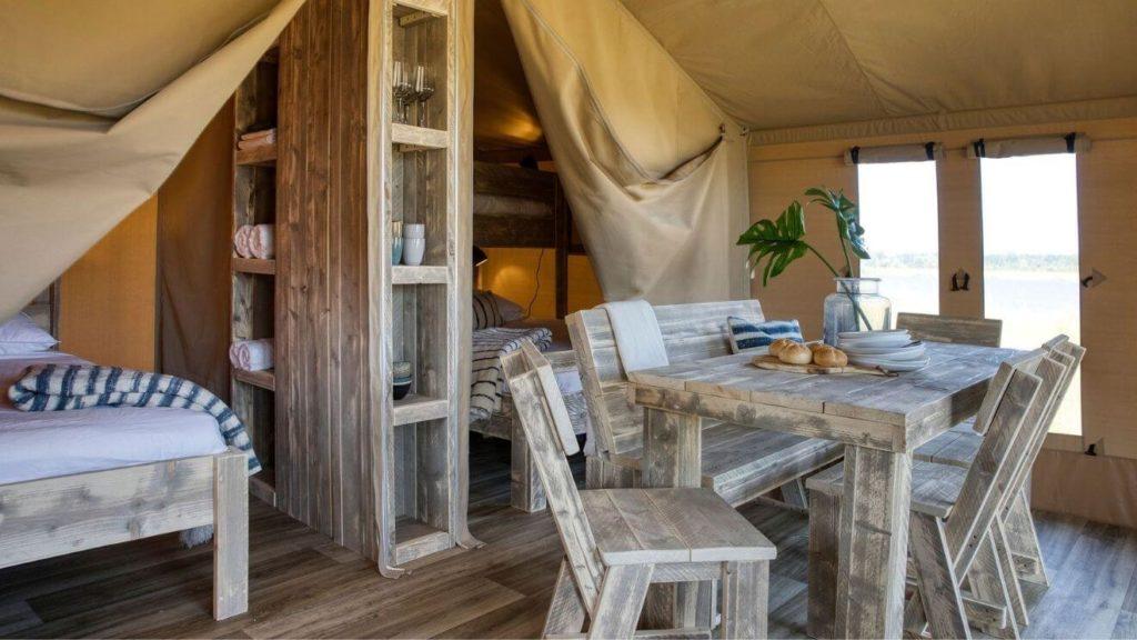YALA furnished glamping tent
