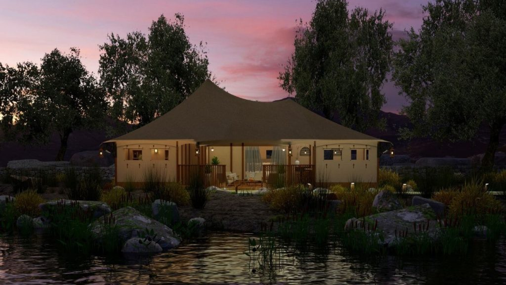 YALA_Eclipse_glamping tent with bathroom