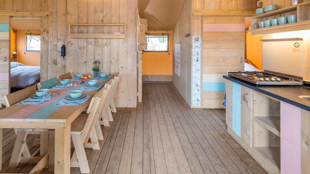 YALA Dreamer interior Vakantiepark Molenwaard