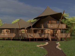 YALA_Supernova_luxury_canvas_glamping_lodge_side_view_by_day