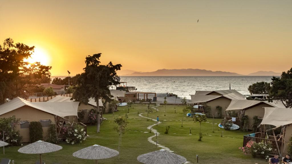 YALA luxury canvas lodges at Logos Beach Village