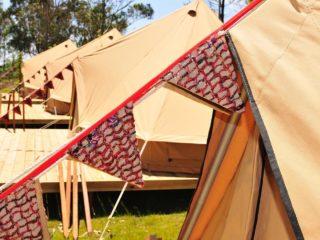 YALA_BellTent_detail_landscape - YALA_BellTent_at_EigenWijze_Netherlands_landscape - Safari tents and glamping lodges
