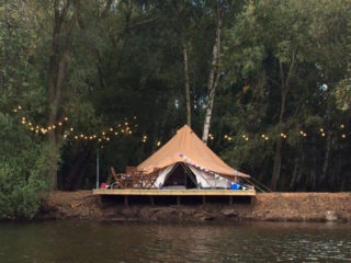 YALA_BellTent_with_cover Safari tents and glamping lodges
