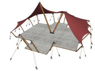 YALA_Aurora_Venue_Plain_without_innertent - Safari tents and glamping lodges