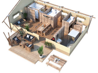 YALA_Dreamer49_3D_floorplan - Safari tents and glamping lodges