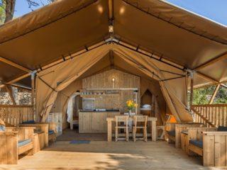 YALA_Sunshine_front_view - Safari tents and glamping lodges