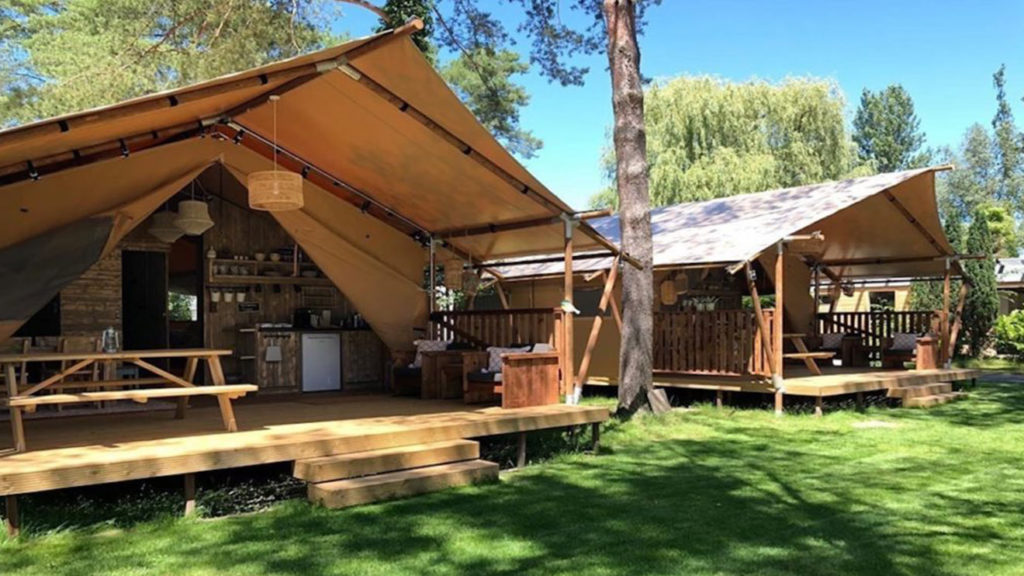 YALA_Sunshine_overview_tents_landscape - Safari tents and glamping lodges