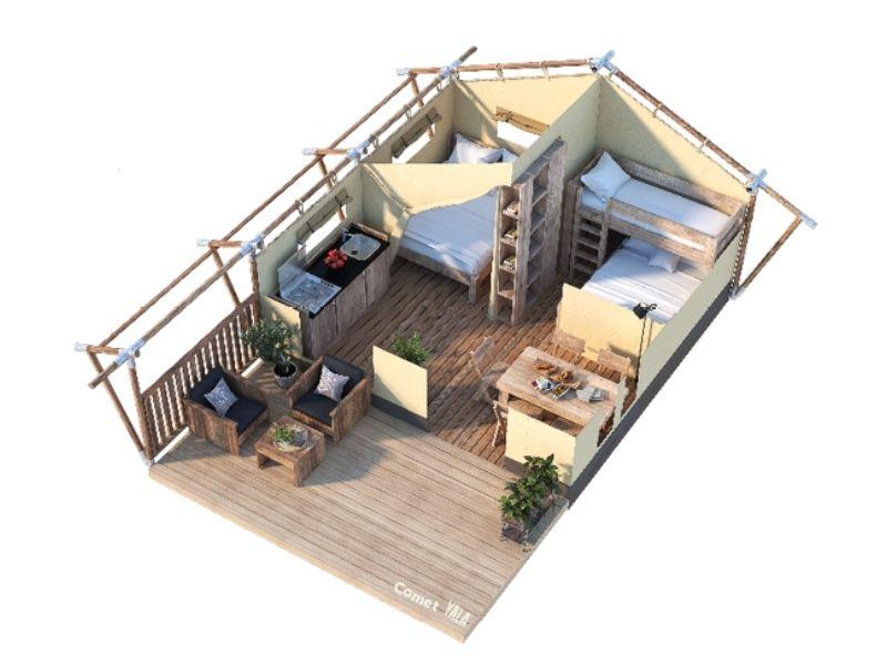 YALA_Comet_Classic_segment_3D_floorplan_with_two_bedrooms