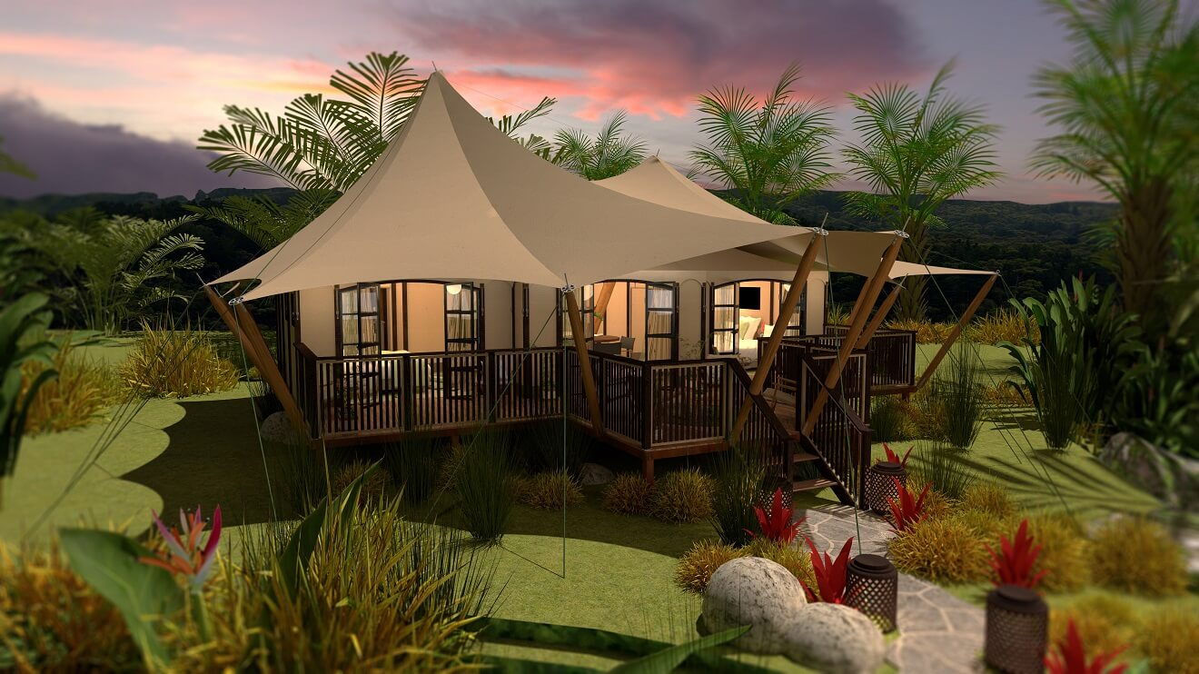 YALA_Aurora_Oriental_side_view_luxury_glamping_canvas_lodges