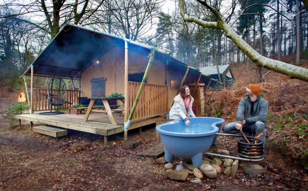Winterglamping Buitenplaats Beekhuizen glamping tenten camping