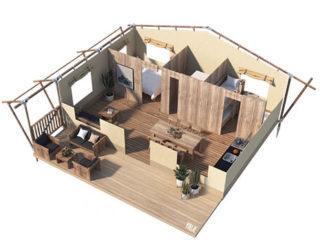 YALA_Stardust_3D_floorplan - Safaritenten en glamping lodges