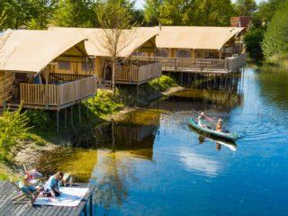 YALA_Sunshine_at_campsite_EigenWijze_Netherland_landscape - safaritenten en glamping lodges