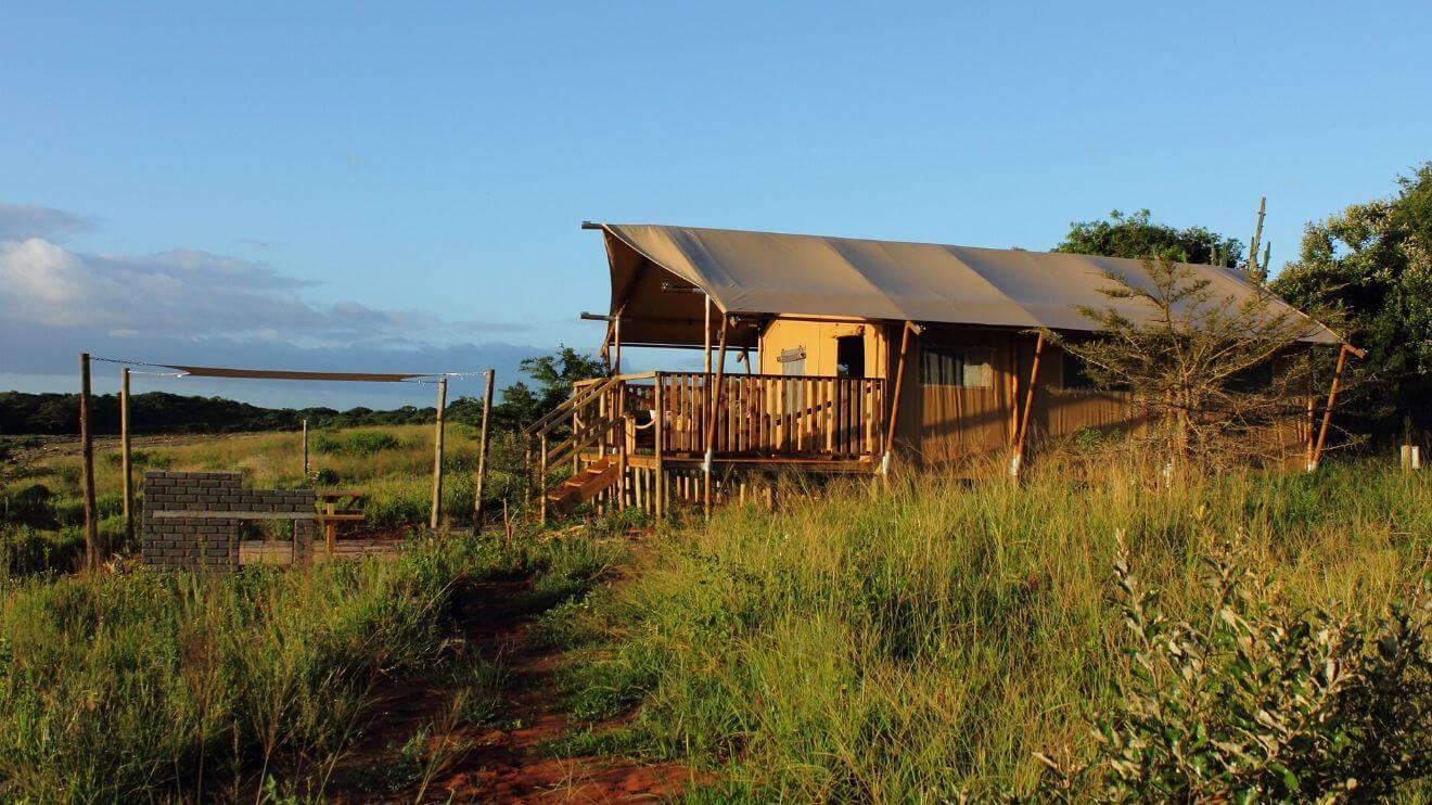 YALA_Sunshine_sunset_Hluhluwe_Bush_Camp_Africa - saafaritenten en glamping lodges