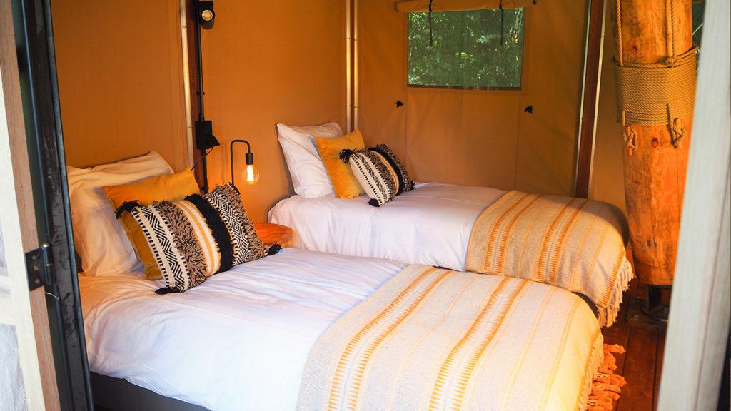 YALA_Supernova_Bedroom_Single beds_ground_floor_Glamping_De_Parel_The_Netherlands