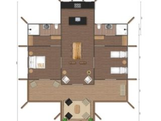 YALA_Aurora_luxury_canvas_glamping_lodge_2D_floorplan
