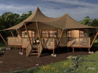 YALA_Aurora_luxury_canvas_glamping_lodge_by_day