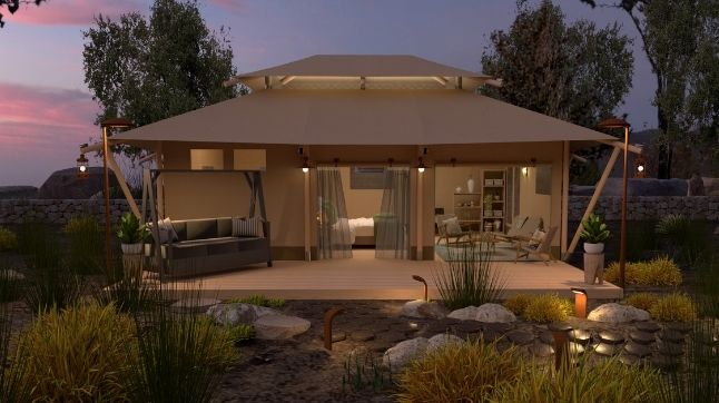 YALA_Stardust_luxury_hotel_suite_family_glamping_lodge_front_view_featured_image