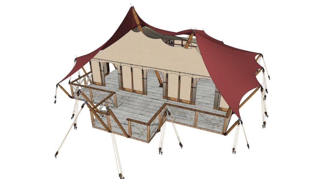 YALA_Aurora_Venue_with_innertent - Safarizelte und Glamping Lodges
