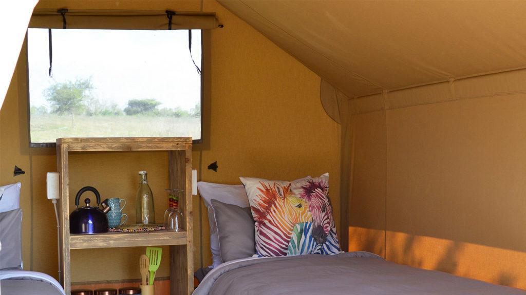 YALA_Sparkle_interior_landscape - Safarizelte & Glamping Lodges