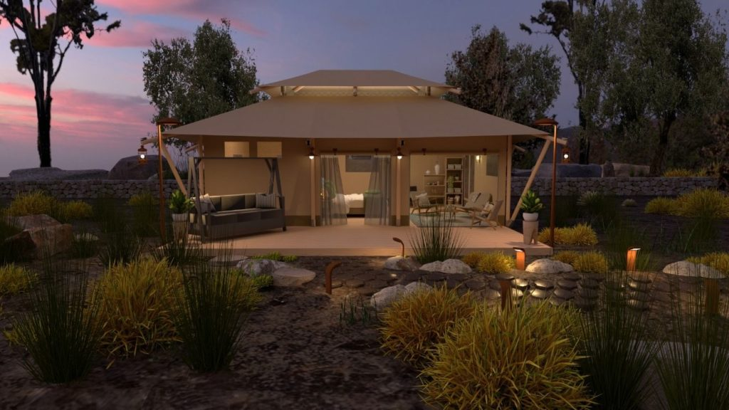 YALA_Stardust_luxury_hotel_suite_glamping_lodge_front_view