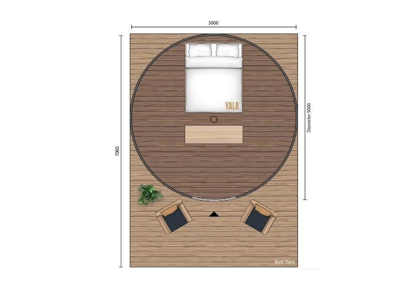 YALA_Bell_Tent_Classic_segment_2D_floorplan