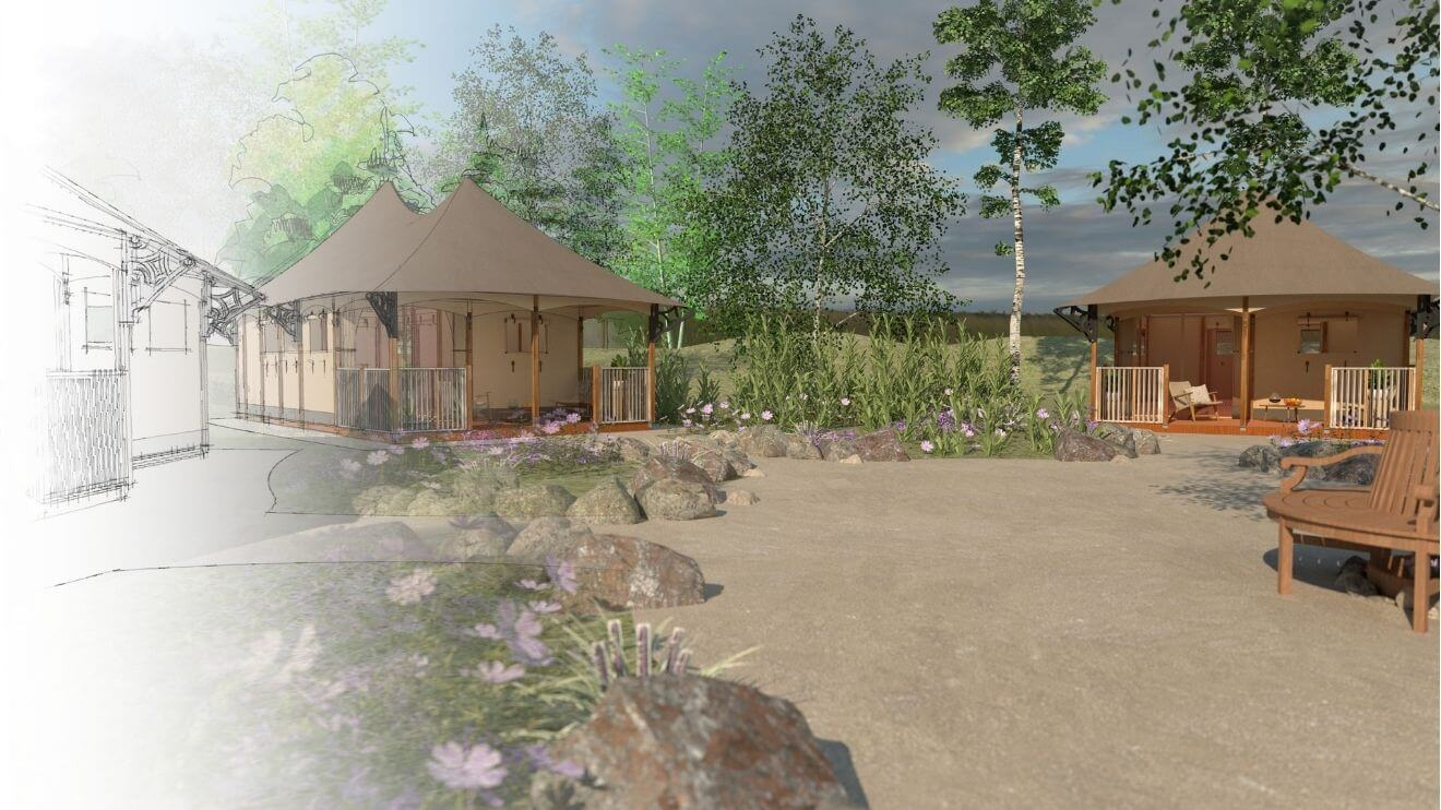 Concept_development_YALA_from_sketch_to_drawning_Twilight_lodges