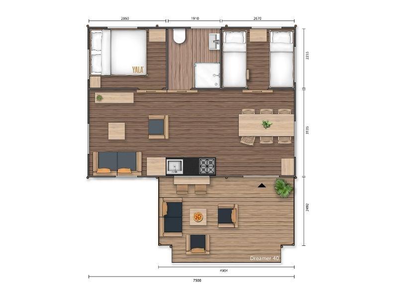 YALA_Dreamer40_Superior_segment_2D_floorplan