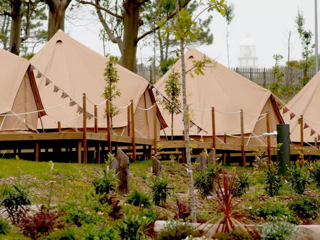 Bell tent Cabanas para Safari
