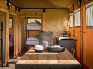 Cabanas para safari e tendas para glamping