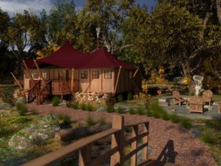 YALA_Aurora_365 _front_view_luxury_canvas_glamping_lodges