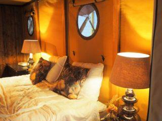 YALA_Aurora_interior_bedroom - サファリテント & グランピングロッジ