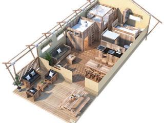 YALA_Sunshine49_3D_floorplan-1 - サファリテント & ゲランピングロッジ