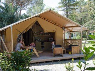 YALA_Sunshine_at_the_campsite - サファリテント & ゲランピングロッジ
