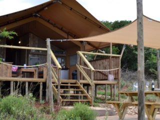 YALA_Sunshine_with_open_front_at_Hluhluwe_Bush_Camp - サファリテント & ゲランピングロッジ