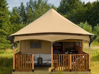 YALA_Twilight_safari_tent_front-view-close-up - サファリテント & グランピングロッジ