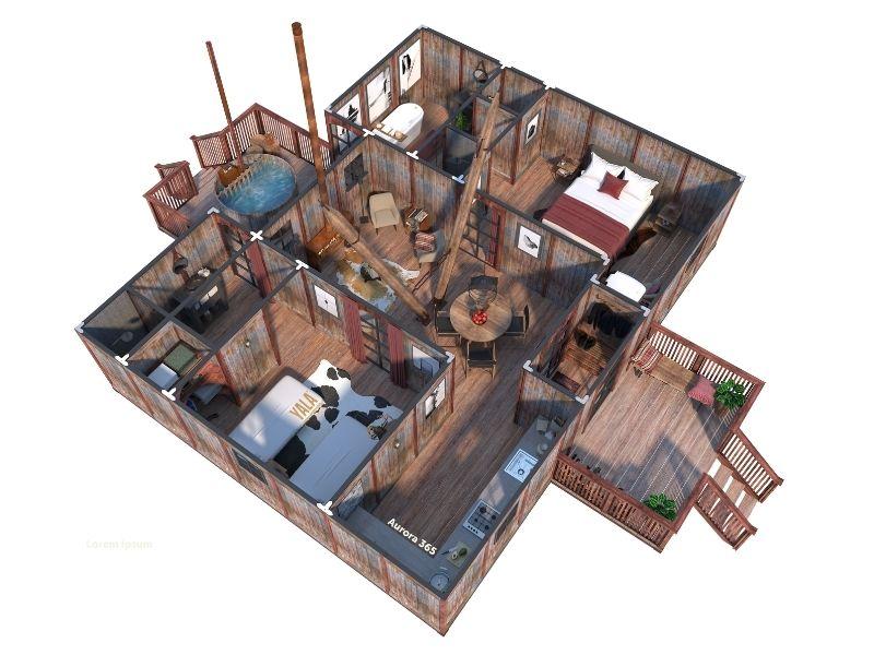 YALA_Aurora365_DeLuxe_segment_3D_floorplan